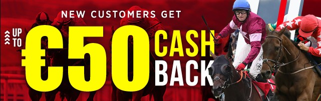 50 euro cash back to new customers